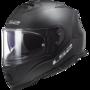 LS2 FF800 Storm motorhelm Single mono mat zwart
