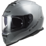 LS2 FF800 Storm motorhelm Single mono nardo grey