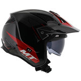 MT District SV Summit helm zwart rood_