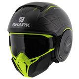 Shark Street Drak Hurok Mat Antraciet Zwart Geel_