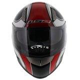LS2 FF384 helm Fortuna glans zwart rood_