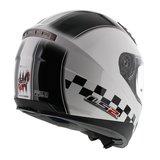LS2 FF384 helm Speed glans wit_