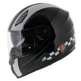 LS2 FF384 helm Last Lap glans zwart_