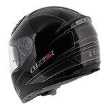 LS2 FF384 helm Esprit glans zwart_