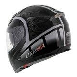 LS2 FF384 helm Dream glans zwart_