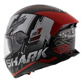 Shark Skwal 2.2 Noxxys mat zwart rood_