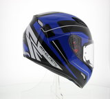 MT Mugello helm Maker Zwart Blauw_