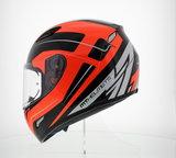 MT Mugello helm Maker Zwart Oranje_