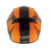 LS2 FF352 Rookie Fan helm mat oranje_