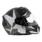 LS2 FF352 Rookie Brilliant helm mat zwart titanium_