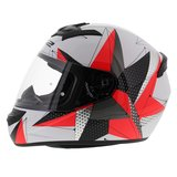 LS2 FF352 Rookie Brilliant helm wit roze_