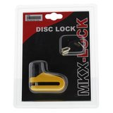 Schijfremslot MKX-Lock mini 6mm geel_