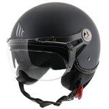 MT Soul Retro helm mat grijs_