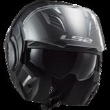 LS2 FF900 Valiant II systeemhelm solid mat zwart_