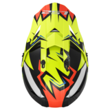 LS2 MX437 Fast Volt crosshelm glans zwart fluor geel_