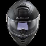 LS2 FF800 Storm motorhelm Single mono mat zwart_