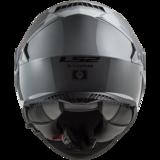 LS2 FF800 Storm motorhelm Single mono nardo grey_
