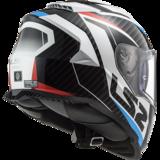 LS2 FF800 Storm motorhelm Racer blauw rood wit_