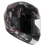 LS2 FF351 Helm Rumble glans zwart rood_