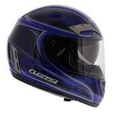 LS2 FF375 helm Shogun glans blauw_