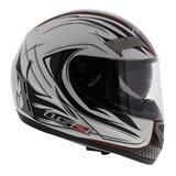 LS2 FF375 helm Stealth glans wit_