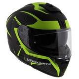 MT Blade II Blaster helm mat zwart fluor geel_