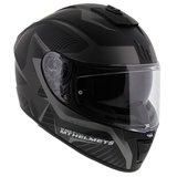 MT Blade II Blaster helm mat zwart grijs_
