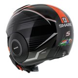 Shark Street Drak Zarco Malaysia GP Mat Zwart Oranje_