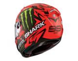 Shark Race-R Pro Lorenzo Diablo Austrian GP mat rood_