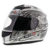 LS2 FF350 Helm Stardust 2 glans wit_