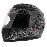 LS2 FF350 Helm Stardust 2 glans zwart_