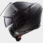 LS2 Systeemhelm FF399 Valiant Noir mat zwart_
