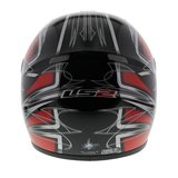 LS2 FF350 Helm Diamond glans rood_