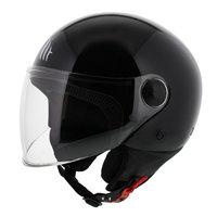 MT Street helm glans zwart