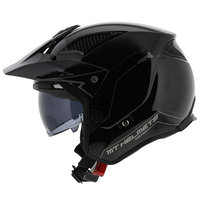 MT District SV helm glans zwart