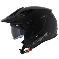 MT District SV helm mat zwart