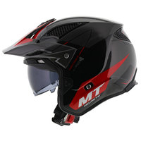 MT District SV Summit helm zwart rood