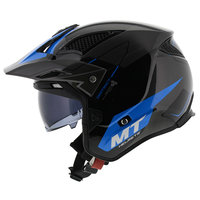 MT District SV Summit helm zwart blauw