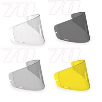 AGV GT4 100% Max Vision Pinlock Lenzen