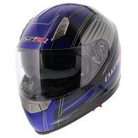 LS2 FF384 helm Big One glans blauw