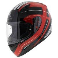 MT Mugello helm Maker Zwart Rood