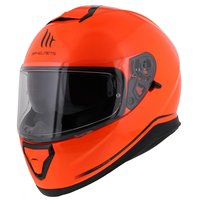 MT Thunder III SV helm fluor oranje