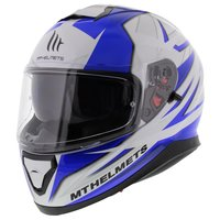 MT Thunder III SV helm Effect blauw