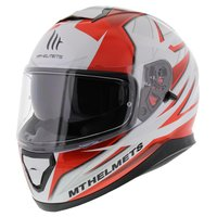 MT Thunder III SV helm Effect rood