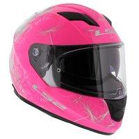 LS2 FF320 Wind glans roze wit