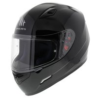 MT Mugello helm glans zwart