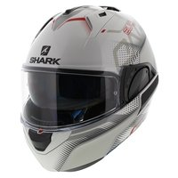 Shark Evo-One 2 Keenser wit zilver rood