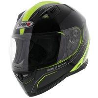 Shiro SH-881 Helmet Furacao Black Yellow
