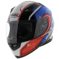 Shiro SH-881 Motegi Helmet Red Blue