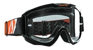 Jopa Crossbril Venom 2 zwart/oranje